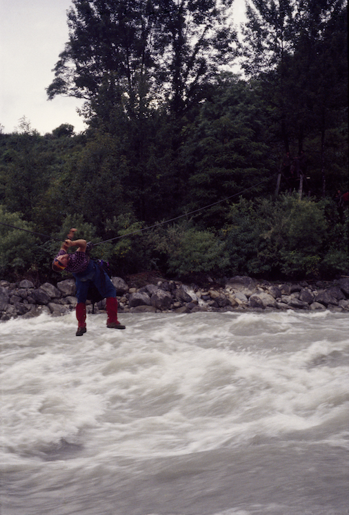 25a 1995 Gil Cable Crossing Chimdro River