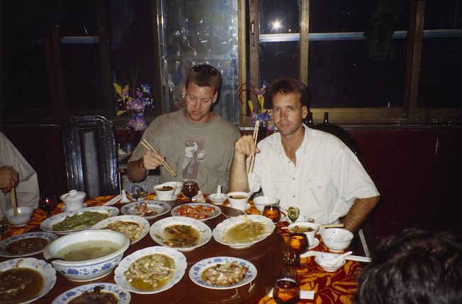 95 A 20 42b 1995 Todd Troy Eating Chinese Food