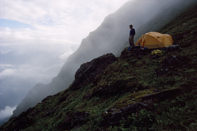 97 C 40 82 1997 Troy Tent Over Inner Gorge