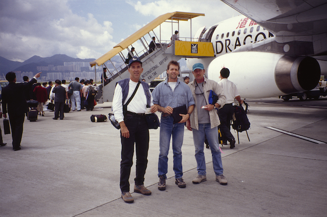 2 131a 1994 Troy Jerry Chris HongKong Airport