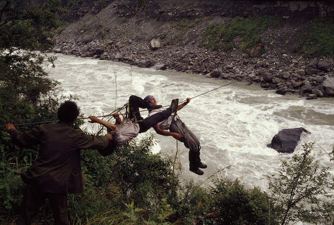 59 67a 1994 Gil Cable Crossing PoTsangPo