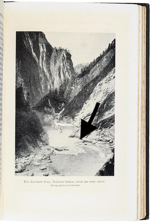 Rainbow Falls 1924 Cawdor Photograph copy